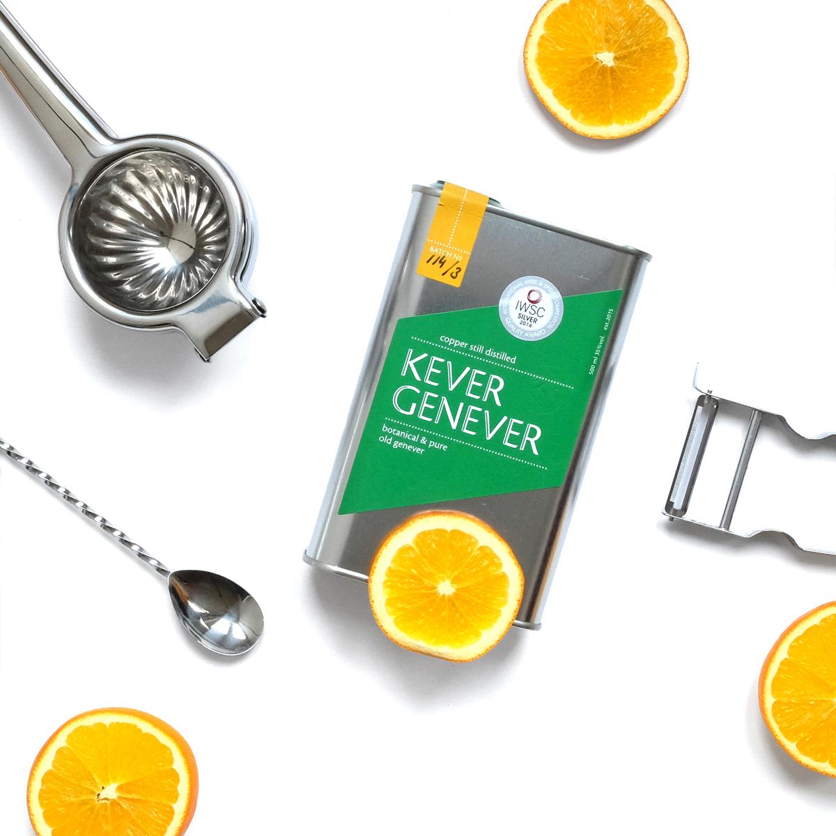 Kever Genever - food fotografie - content creator